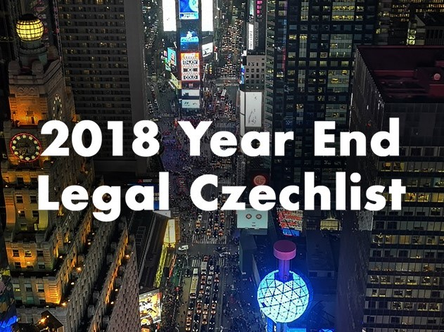 ECOVIS Ježek 2018 Year End CheckList