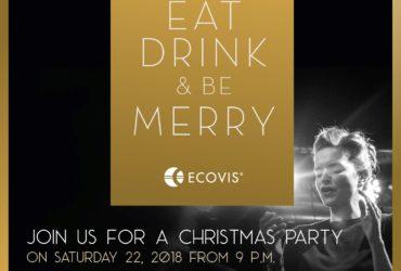 Pozvánka na vánoční večírek ECOVIS 22.12.2018