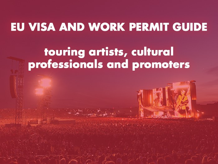 Artists mobility - work permit and EU visa exemptions, touring artists, tour promoters ECOVIS new
