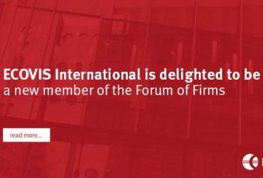 ECOVIS International je novým členem Forum of Firms